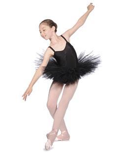 Tutu danse nouveau style à la Parisienne, dos décolleté, poitrine froncé